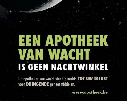 Campagne apotheek van wacht - Apotheek Van Grootel